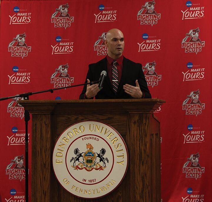 Edinboro welcomes Jake Nulph as new head football coach by Paul Petrianni