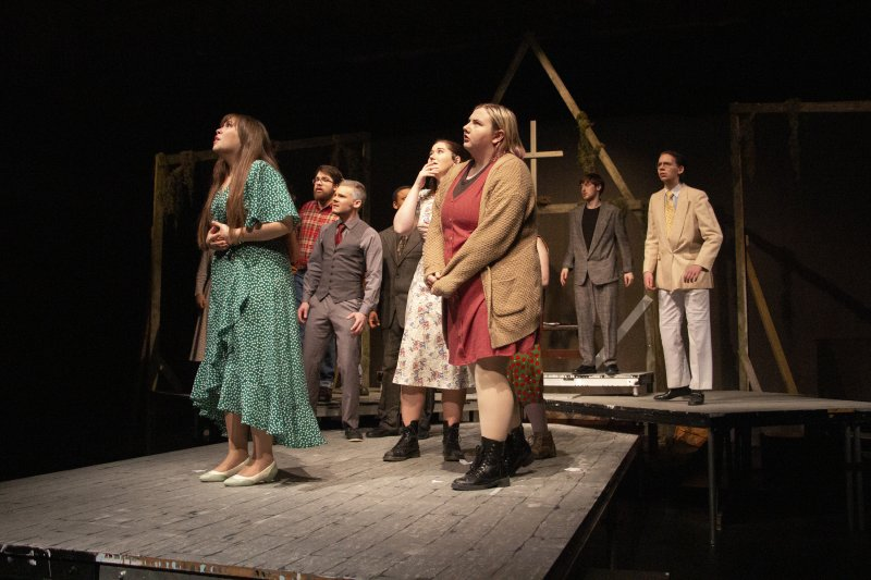 'The Crucible' cast delivers bewitching performance by Hazel Modlin