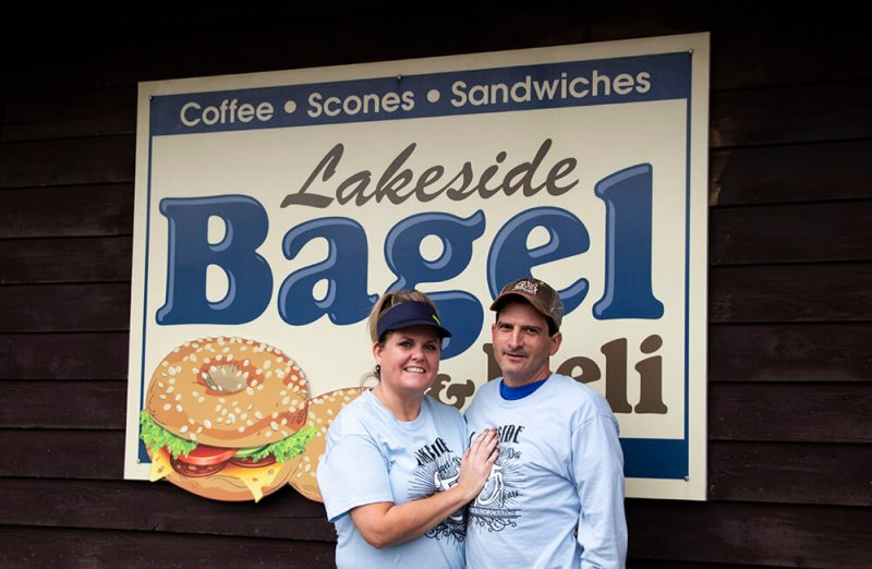 Lakeside Bagel and Deli celebrates 25 years by Thomas Taylor