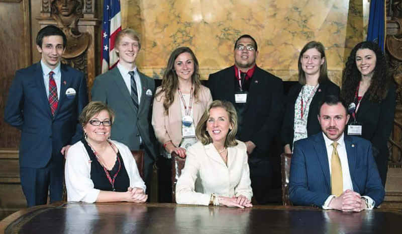 EU students discuss affordable public higher education in Harrisburg by Meghan Findley